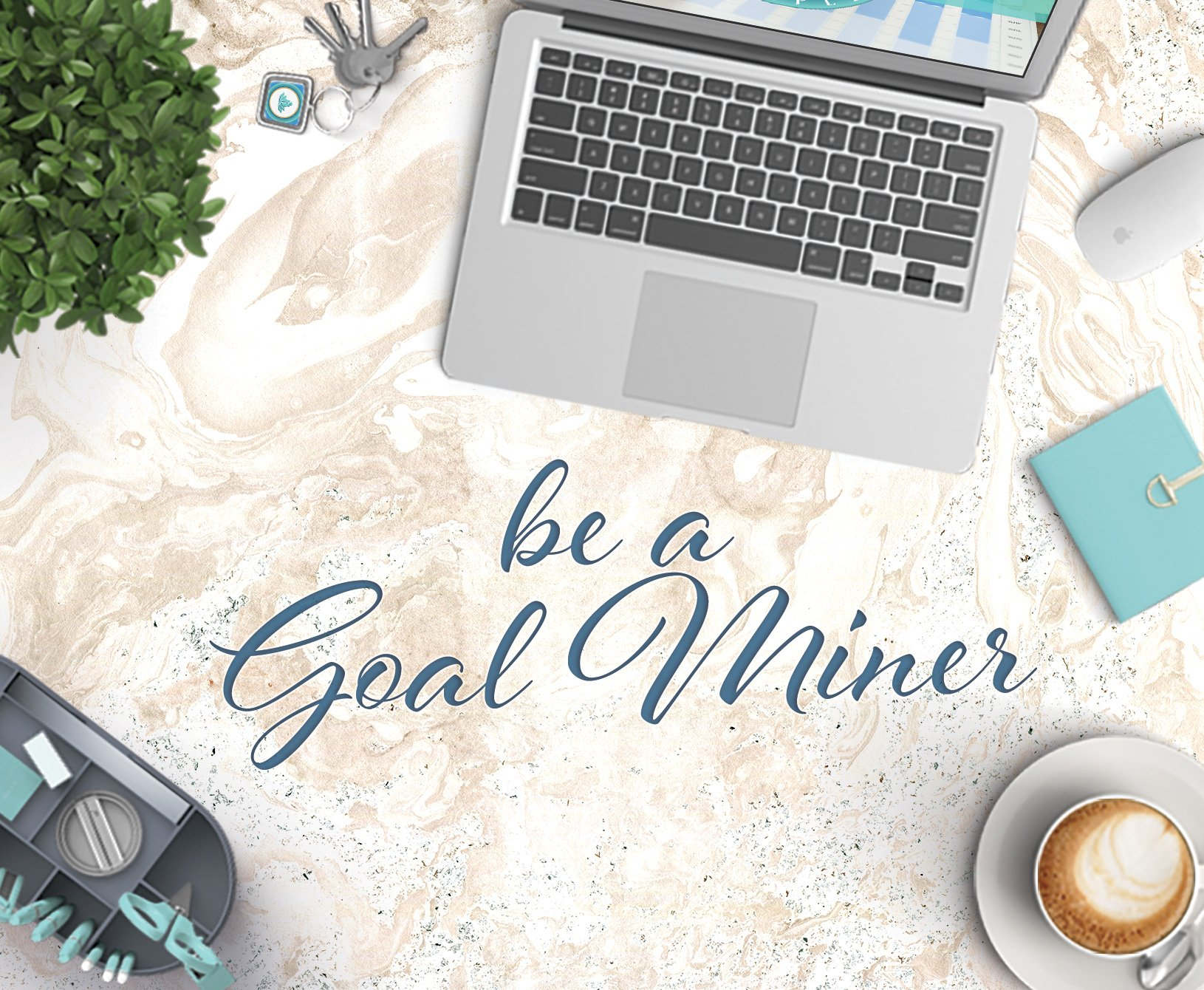 Be a Goal Miner Ecourse, Digital Made Simple, Nicole Johnson