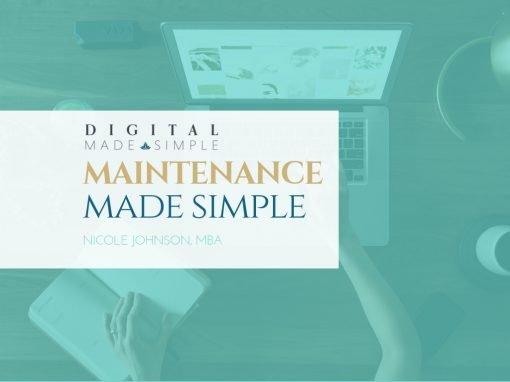 Maintenance Made Simple™, Digital Made Simple, LLC,